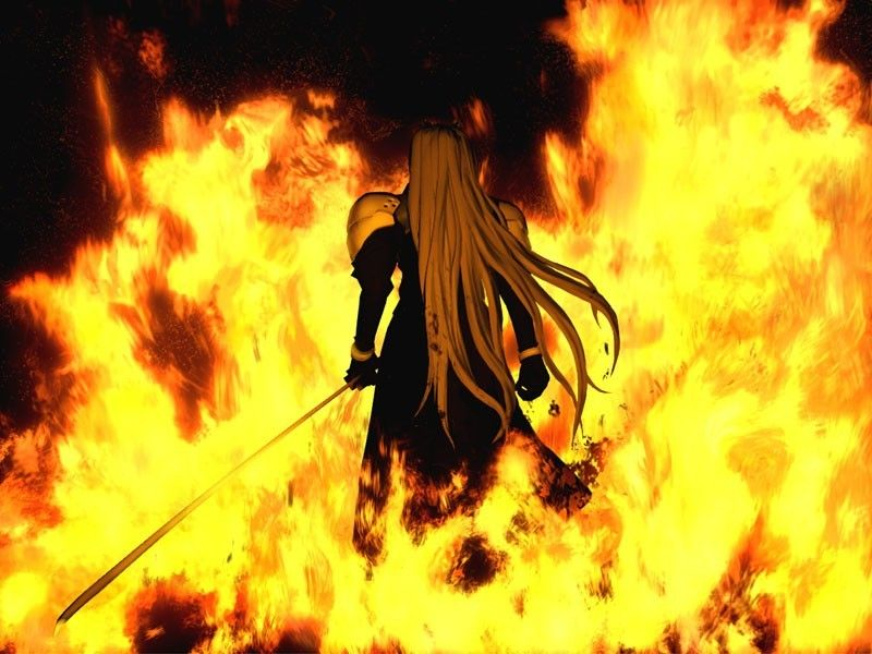 Sephiroth From Final Fantasy Vii Crisis Core Destruction