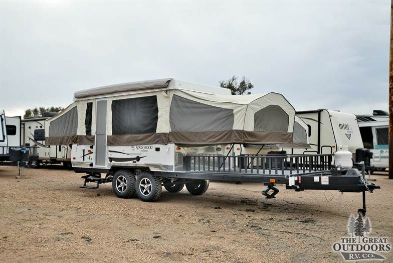 The Rockwood 282txr Includes All The Benefits Of A Pop Up Camper