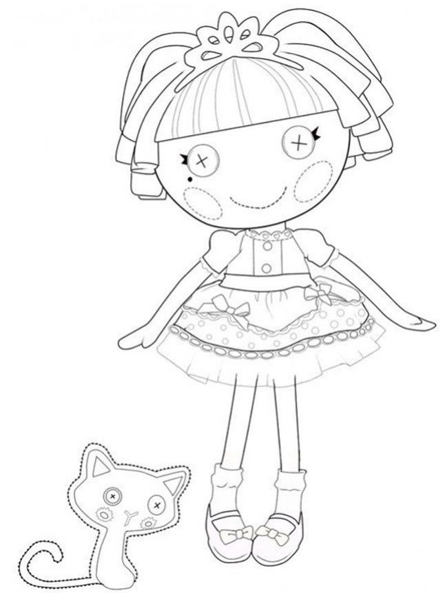Lalaloopsy Coloring Book | Coloring | Pinterest | Lalaloopsy and ...