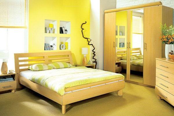Ideas para pintar dormitorios dormitorios pintar un - Pintar pared dormitorio ...