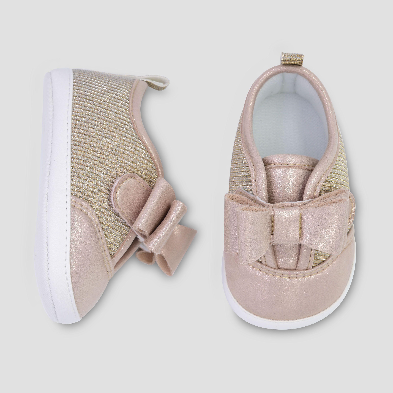 Baby Girls' Low Top Sparkle Sneaker