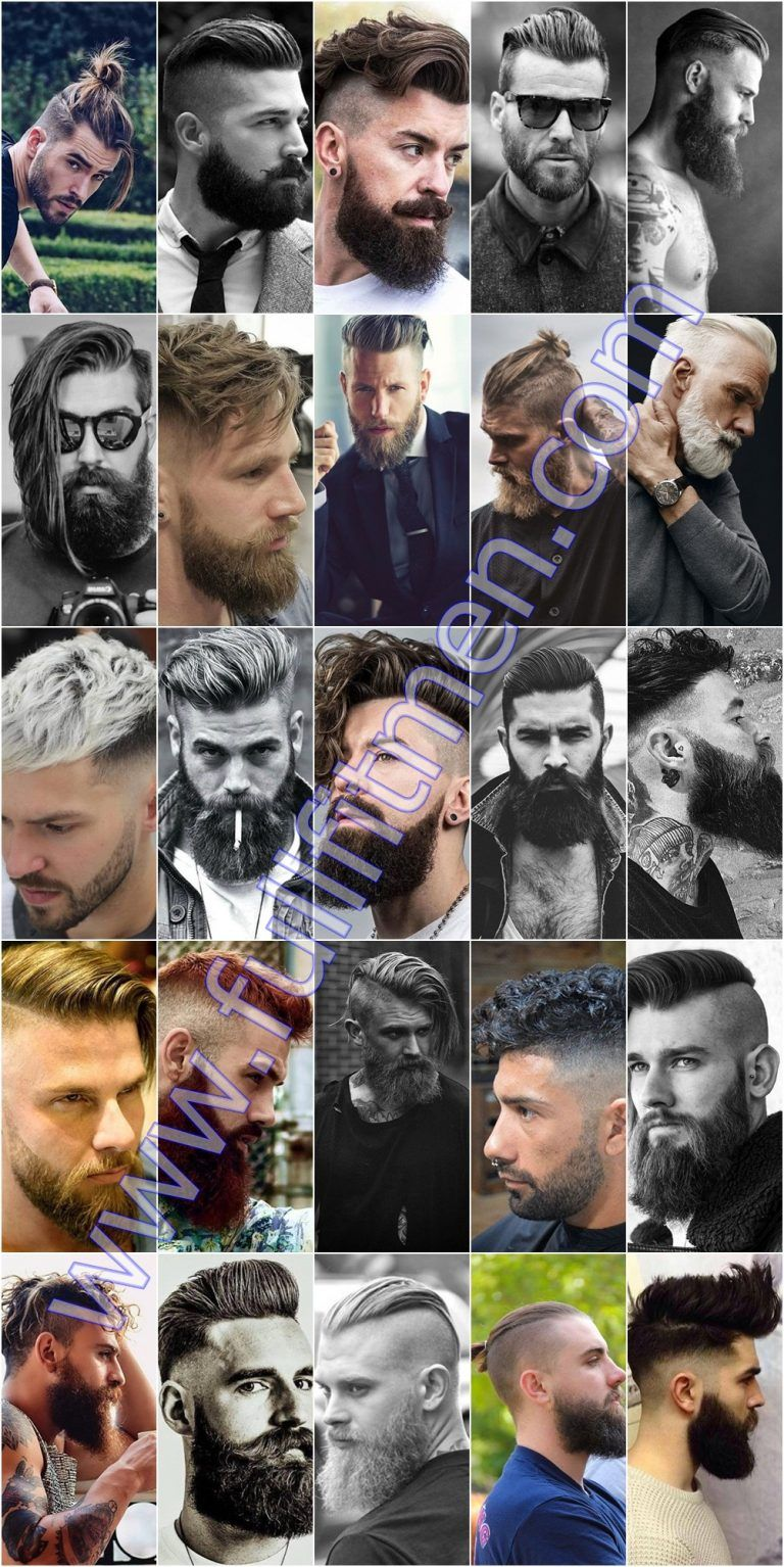 Haircuts for men over 40  crazy mens undercut hairstyles with beard  hair wantz