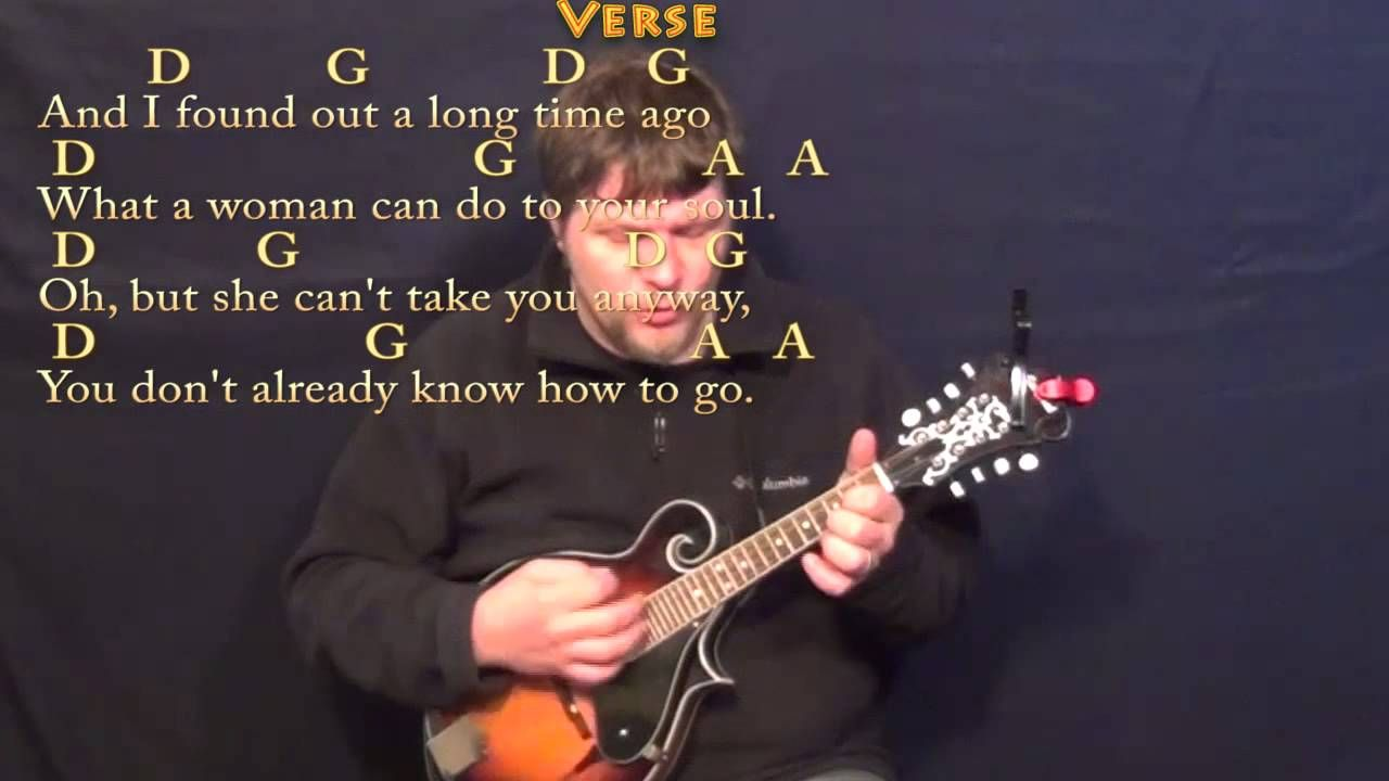 Peaceful Easy Feeling Eagles Mandolin Cover Lesson In D With