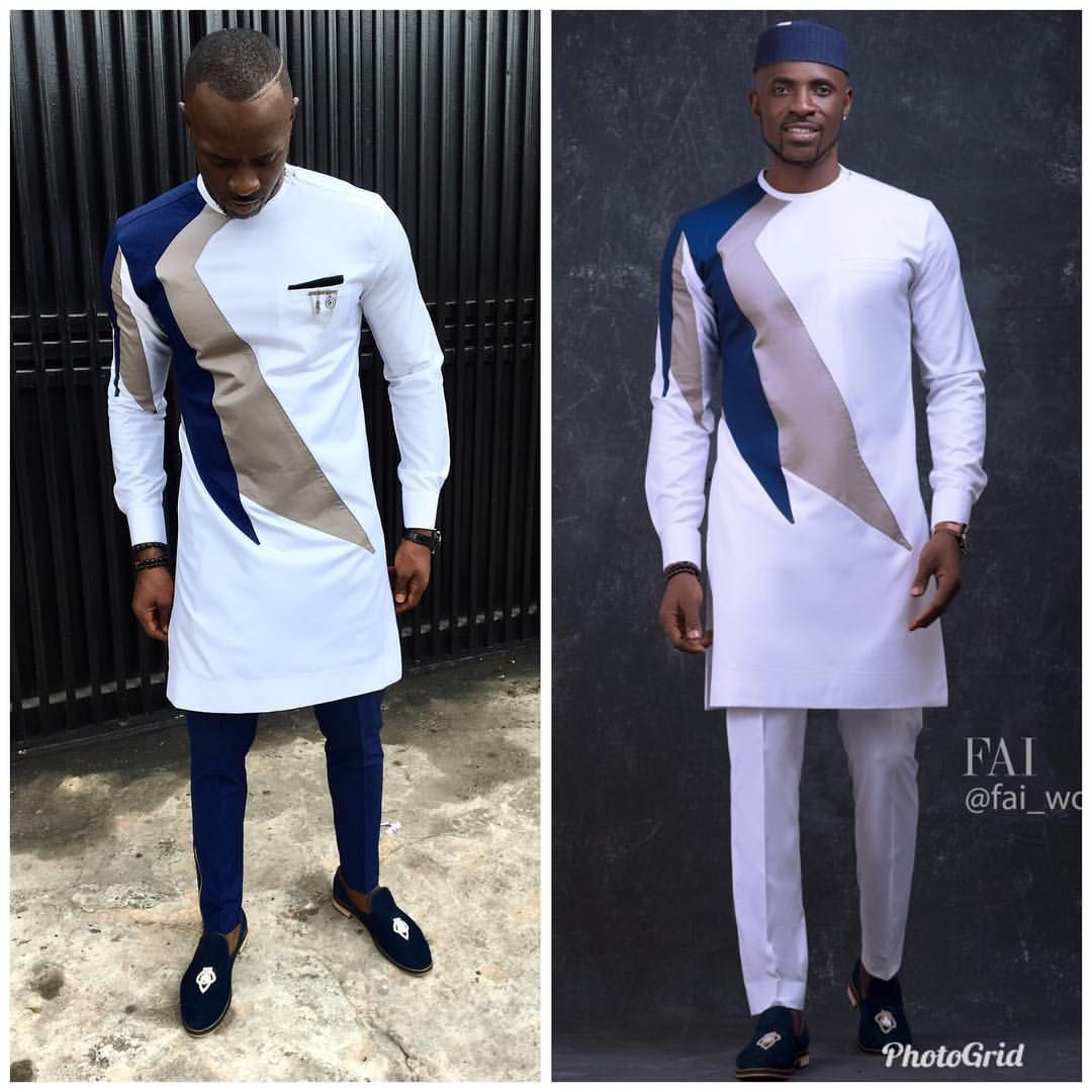 Wow Check Out These Nigerian Native Wear Designs For Men African Shirts For Men African Men Fashion African Attire For Men