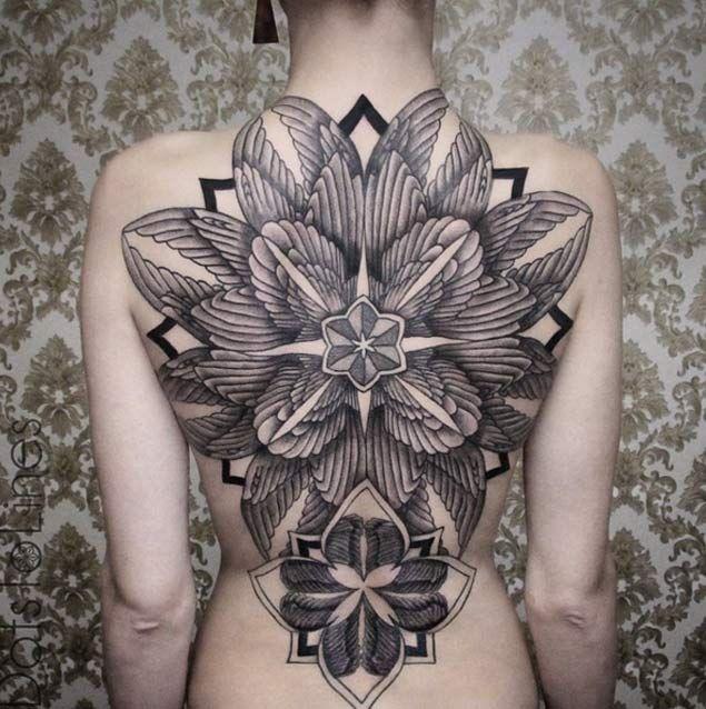 31 Breathtaking Full Back Tattoo Designs Full Back Tattoos Back