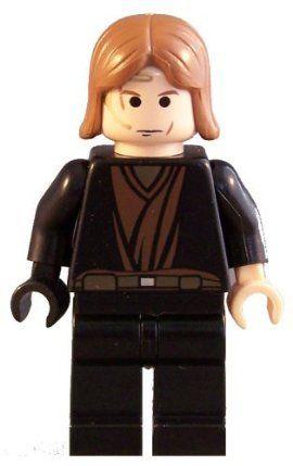 Lego Anakin Skywalker 7957 Clone Wars Dark Brown Arms Star Wars Minifigure