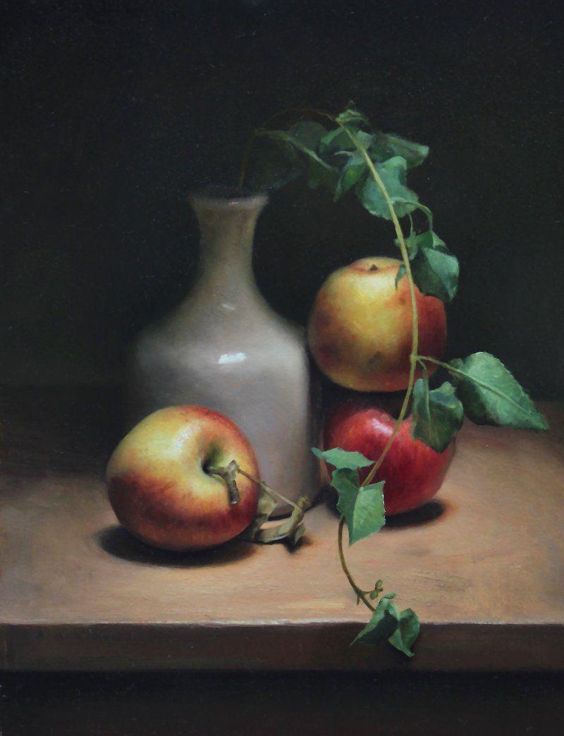 Apple Still Life by Jos van Riswick ~Repinned Via Lana Fekete ...