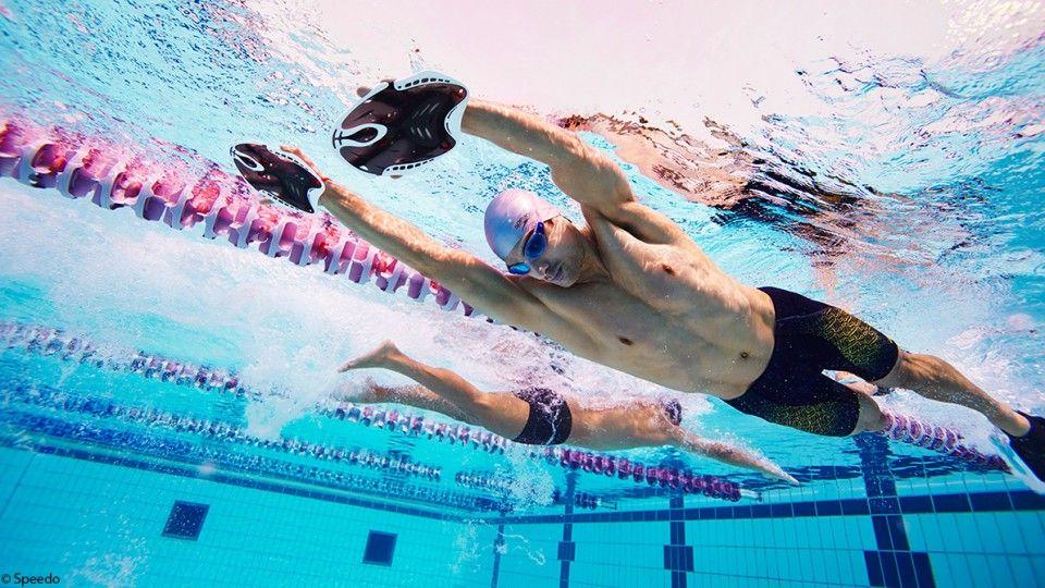 Schwimmtechnik fürs Kraulen beim Triathlon Schwimmtraining
