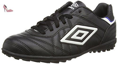 Umbro Speciali Eternal Pro Hg–Chaussures montantes pour hommes, Speciali Eternal Pro Hg, Blanco/Negro/Clematis Azul, 42