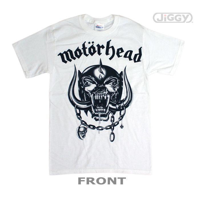 b9fd696b Com - Motorhead - War Pig T-Shirt Motorhead t-shirt with black & white  print of their classic skull logo artwork. Feel the fury of the War Pig!