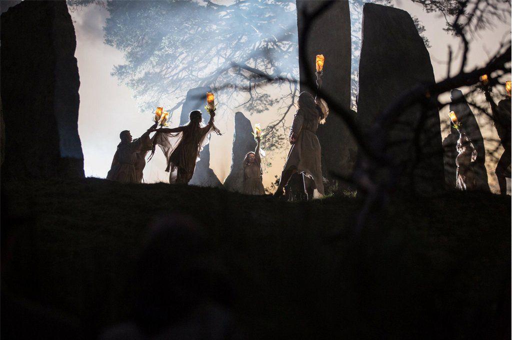 Druid Dance On Samhain Outlander Frame Outlander Bearmccreary