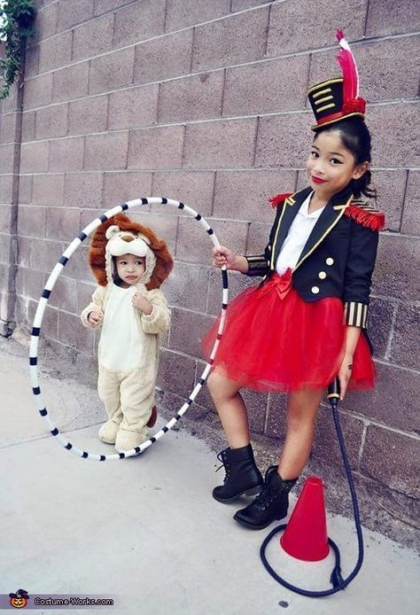 Zirkusringmeister Lion Tamer - Halloween-Kostümwettbewerb bei Costume-Works.com - Pinterest #circus