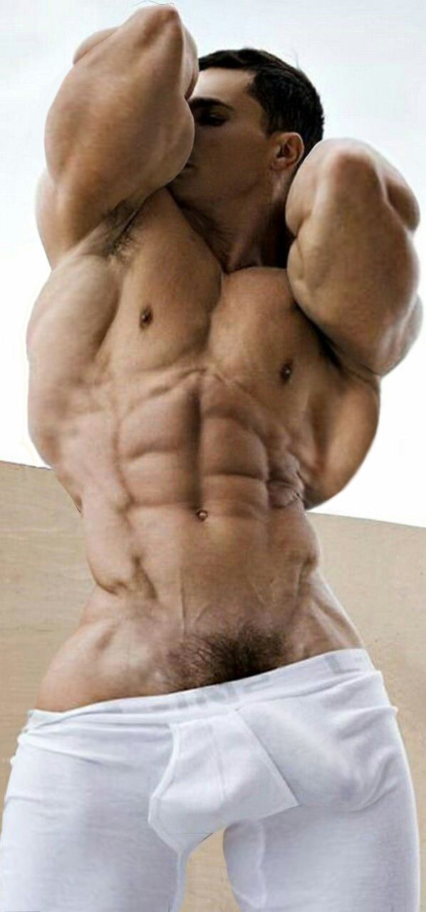 muscle man morphs bulge