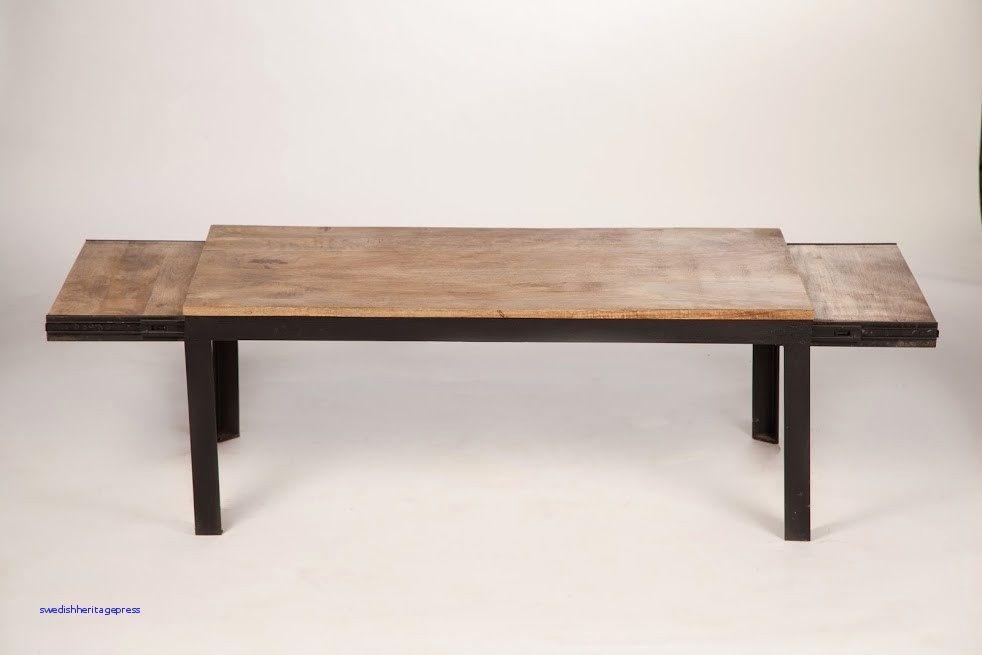 Table Bois Metal Avec Rallonge.Terrasse Bois Avec Table Style Industriel Avec Rallonge