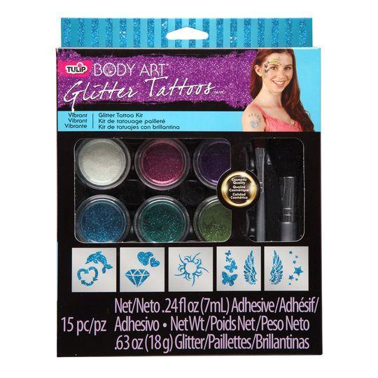 Tulip® Body Art™ Glitter Tattoo Kit