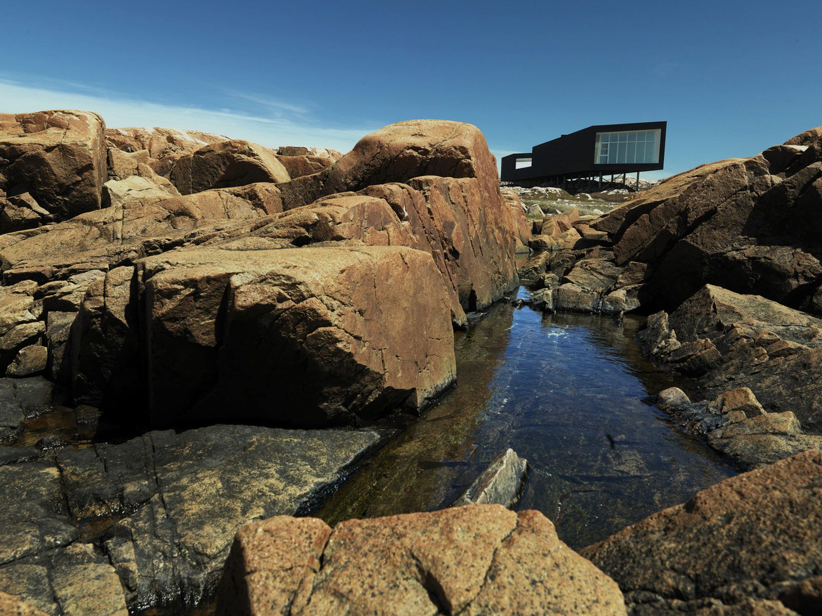Cabin in Fogo Island by Saunders (in Bergen!)