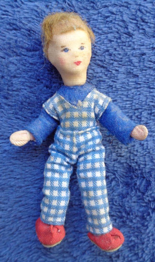 Puppen & Zubehör Puppen & Kleidung Frau Erna Meyer Grünes Kleid Puppenstube Puppenhaus 1:18 Dollhouse Doll