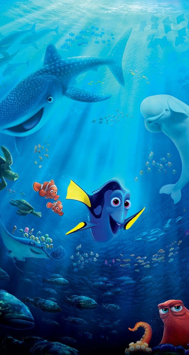 Wallpaper iphone nemo - Wallpaper For Your Phone Disney Wallpaper Cute Wallpapers Iphone Wallpapers Phone Backgrounds Sea Art Finding Dory Iphone 6 Photo Galleries