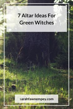6 Altar Ideas For Green Witches