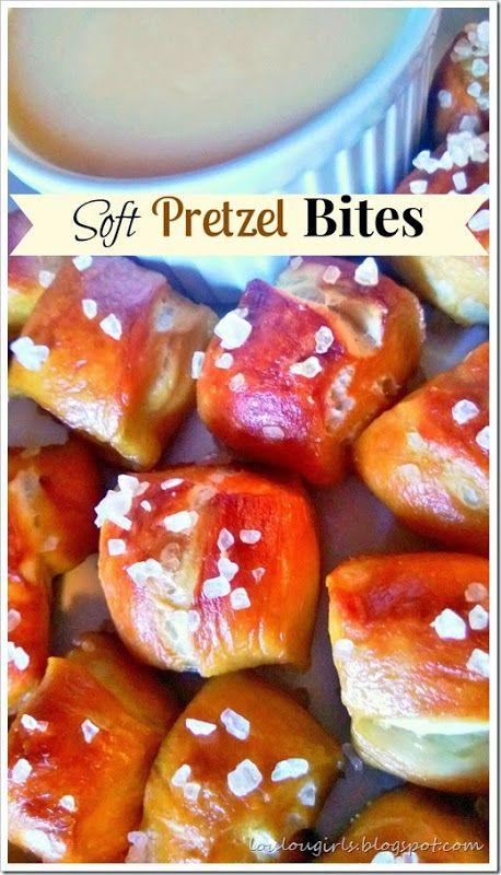 Homemade Soft Pretzel Bites! #homemade #soft #pretzel #bites #recipe #snack #appetizer