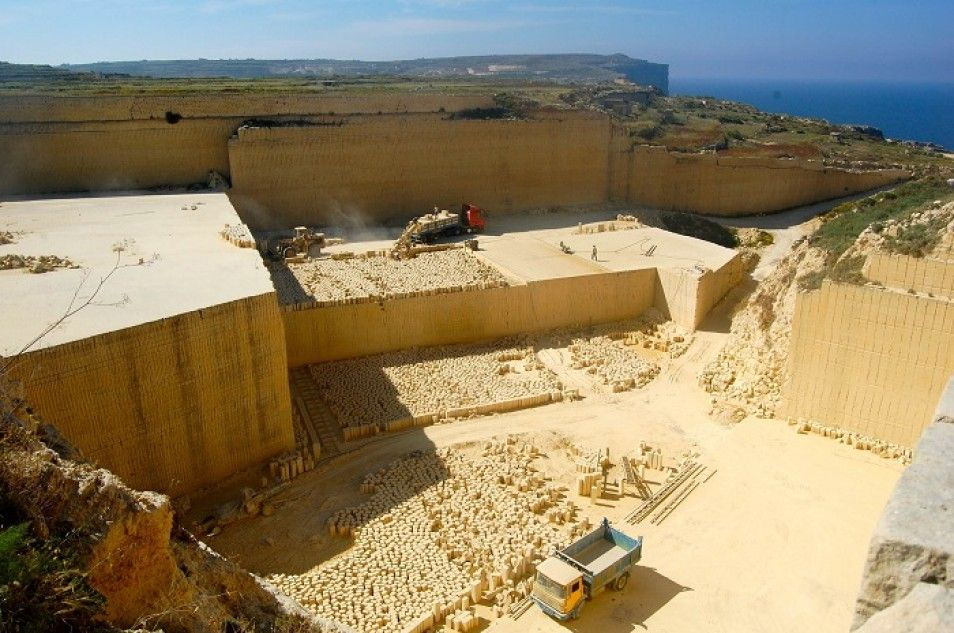 I MADE IT!   Exploring Malta One Day at a Time   Gozo Limestone