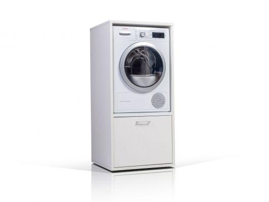 Wash tower waschmaschinenschrank weiß schöner wohnen