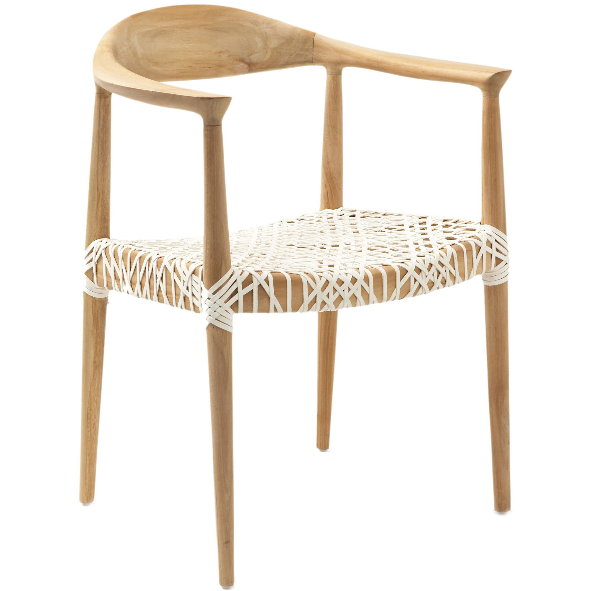 Reminiscent Of Mid Century Modern Chairs With Blond Wood And Spindle Legs,  The Retro