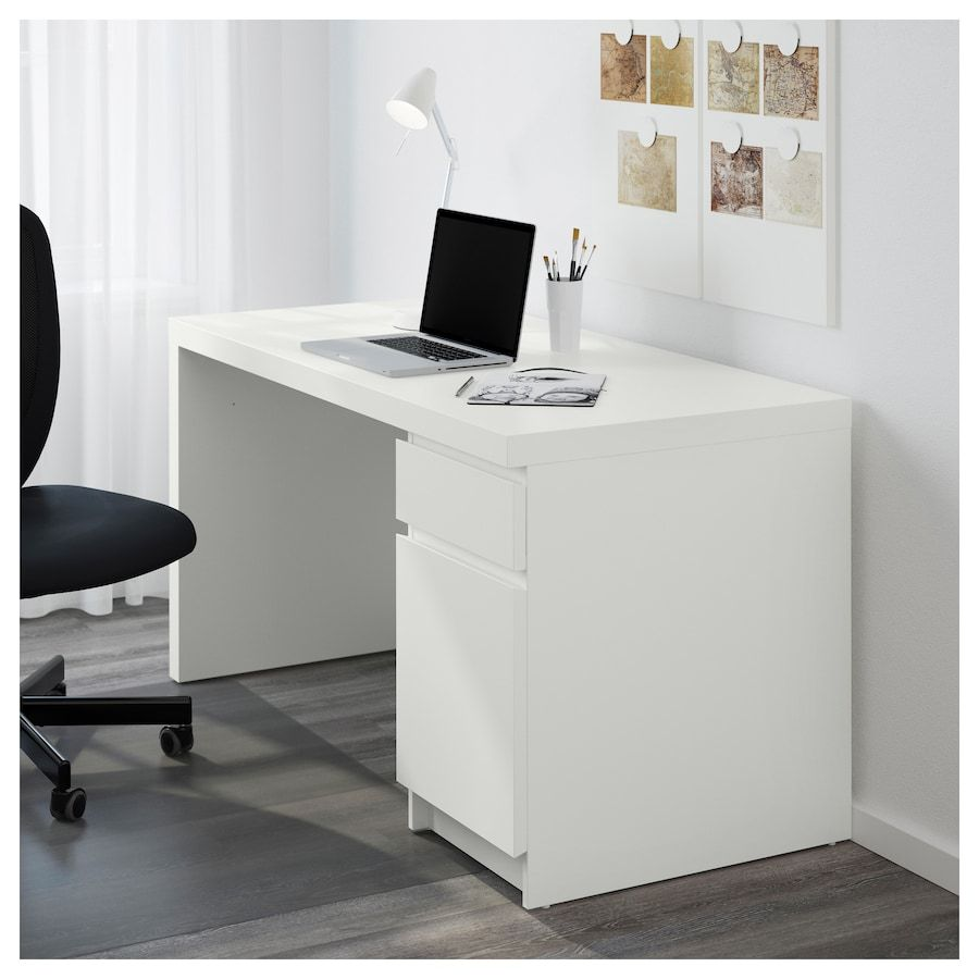 Best Malm Desk White 55 1 8X25 5 8 With Images Ikea 400 x 300