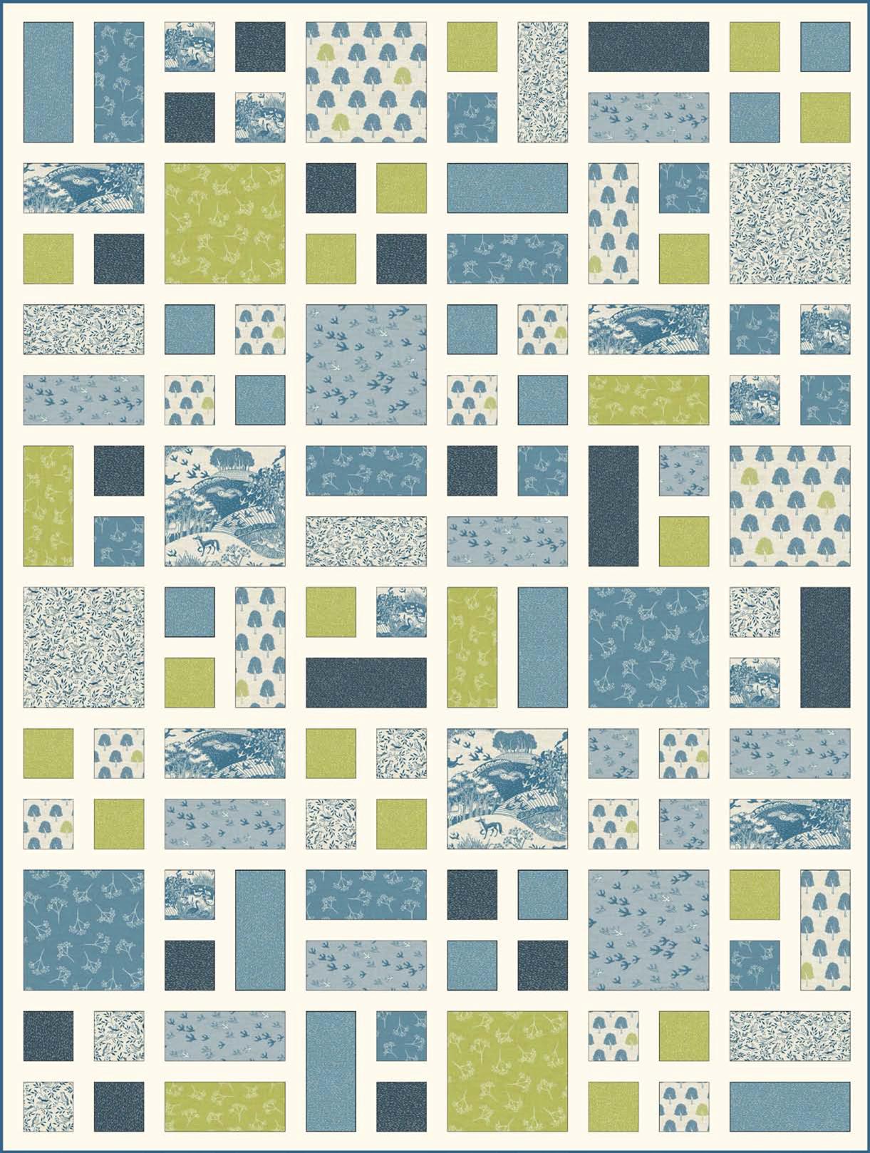 946f26ca7c3c Free pattern   Heartwood quilt at Andover Fabrics