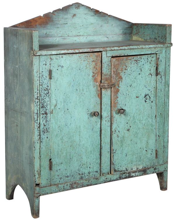 Seawashed Cabinet Primitive Cabinets Antique Cupboard Rustic Furniture