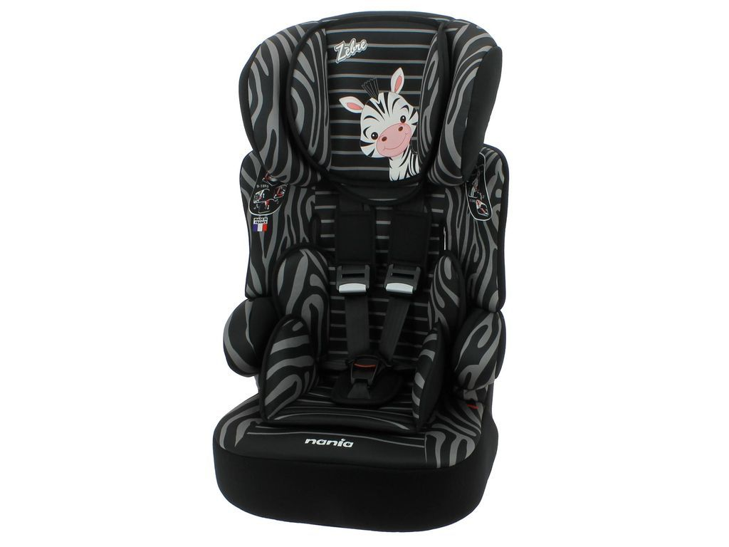 Nania Imax Premium Group 1-2-3 Car Seat Charcoal Kids Safety Travel Essentials