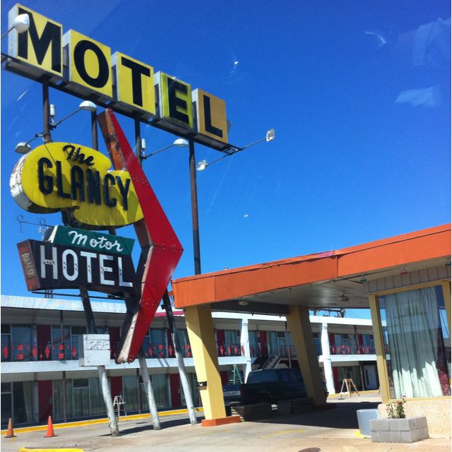 Driving route 66 - my fave shot
