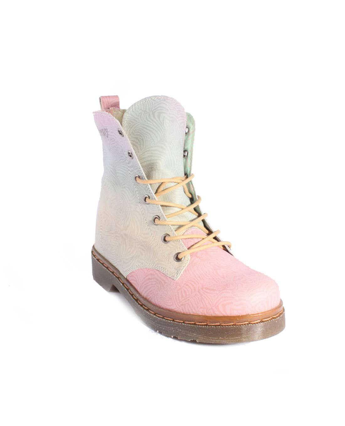 Botas mujer Coolway de multicolor piel multicolor de Patin Zapatos botas a2d594