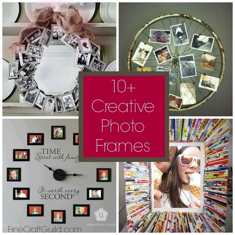 10 Creative Photo Frames Creative Photo Frames Home Crafts Crafts
