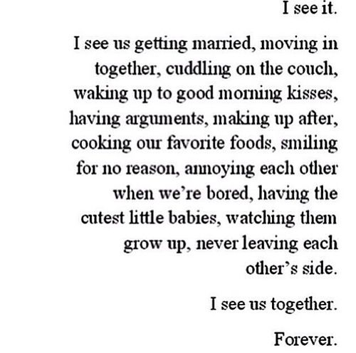 You Know You Re In Love When Quotes Awesome Once You Start Imagining These Things You Know You're Too Far Gone