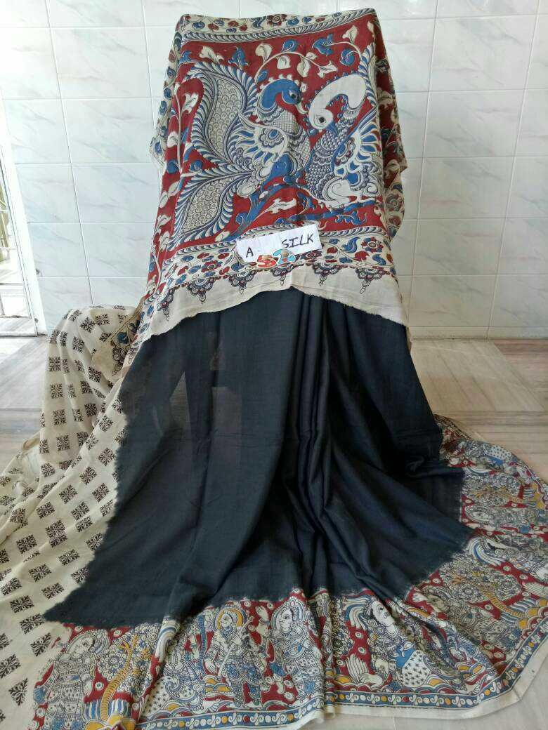 Kalamkari silk cotton sarees 16