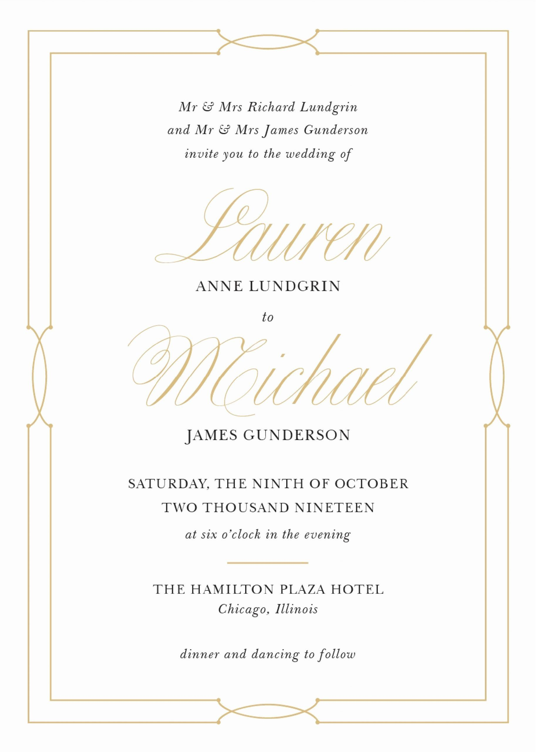 Custom listing for the Invitation Template with silver effect and matching rsvp card