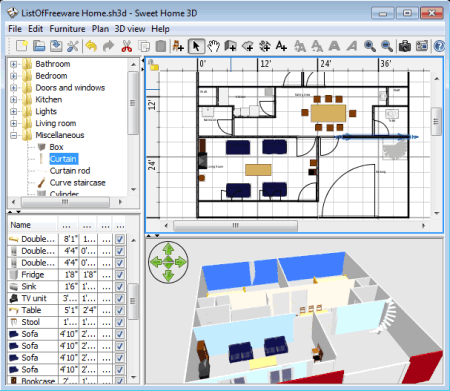 List of best free home design software for 3d home - Free software for 3d home design ...