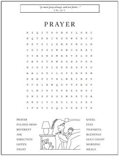 picture about Printable Children's Bible Word Search Puzzles identified as Prayer Term Seem For More mature Little ones : Prayer Term Look