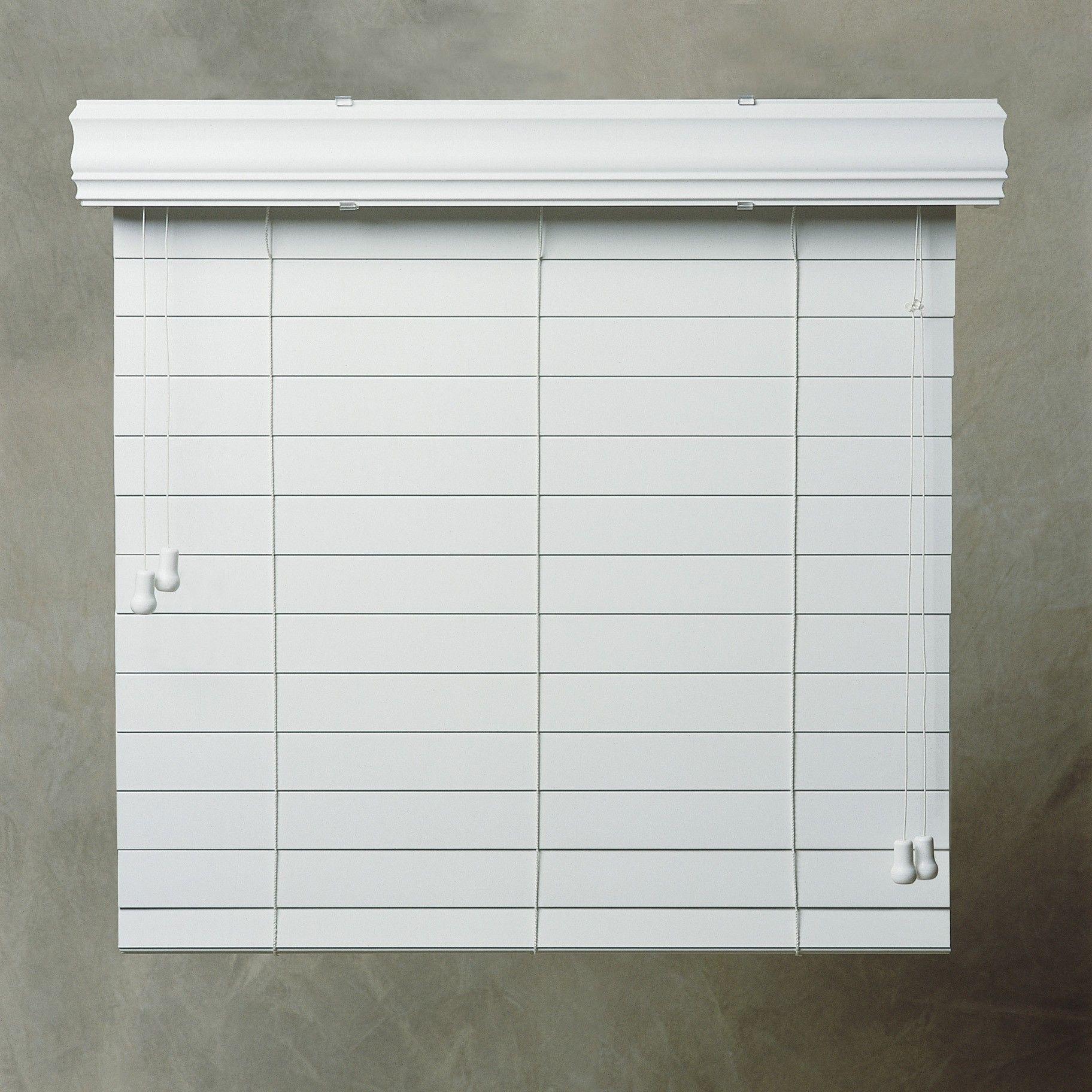 simple white aluminum outside mount mini blinds design for hanging