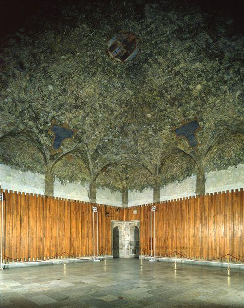 Leonardo Da Vinci Sala Delle Asse 1494 97 Castello Sforzesco