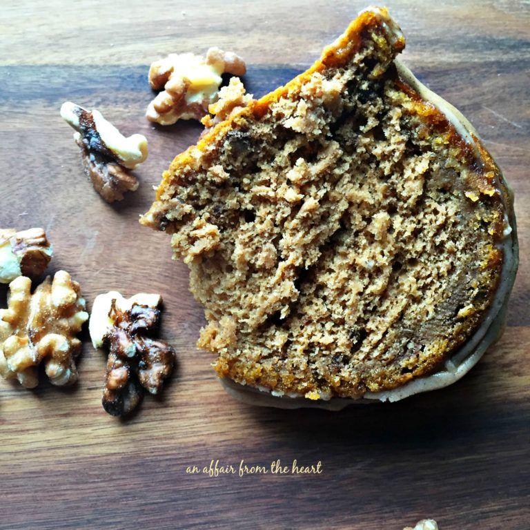 Pumpkin Spiced Coffee Cake with Brown Butter Glaze