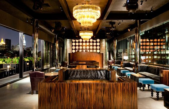 Electric Room, Dream Hotel, NY NY | Contract Interiors : Hotel ...