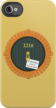 221B Bag End iPhone Case by sirwatson