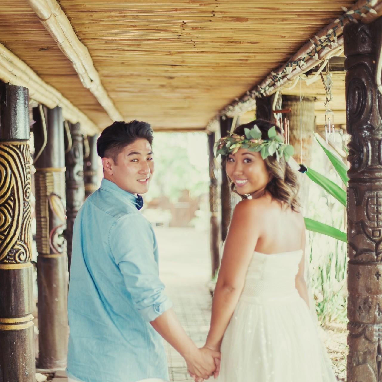 ビーチ以外にも素敵な場所はたくさん 二人だけの特別な場所に ハワイならではのオススメ撮影スポット多数ご用意してます Tikibar Tikibar Weddingsofhawaii ビーチウェディング オ ウェディング
