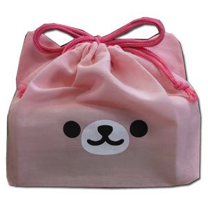 Nico Mimi Pink Cat Face Bento Bag