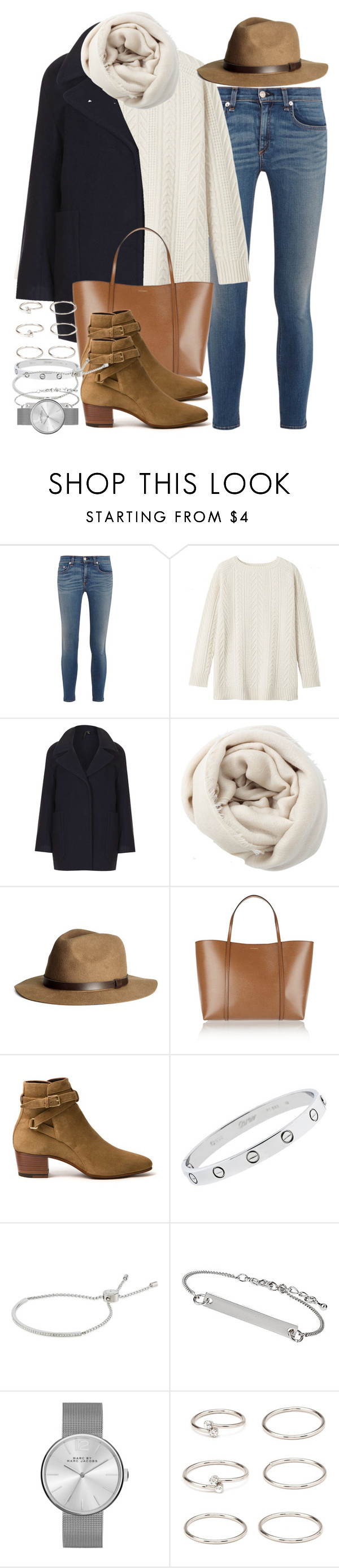 """Sin título #3595"" by hellomissapple on Polyvore featuring moda, rag & bone, Toast, Boutique, Bajra, H&M, Dolce&Gabbana, Yves Saint Laurent, Cartier y Michael Kors"