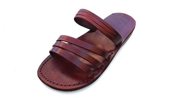 AUSVERKAUF! Neue Handgefertigte Leder Sandalen Männer Frauen