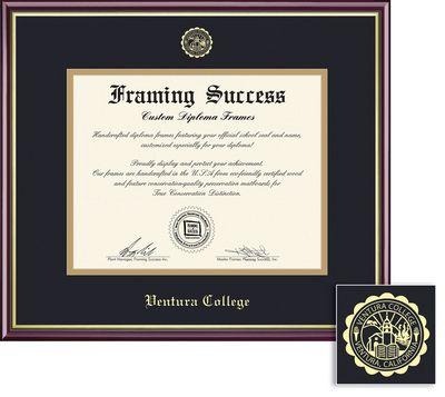 University of Rhode Island Diploma Frame Lithograph URI Graduation ...