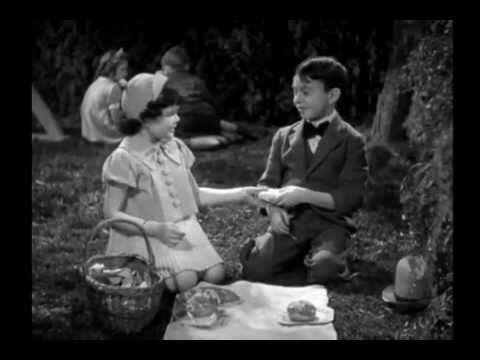 Valentines Darla and Alfalfa -- Alfalfa sings bubbles ...